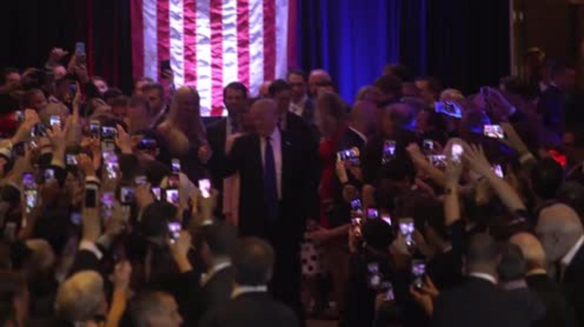 USA: Trump celebrates on home-turf after NY win