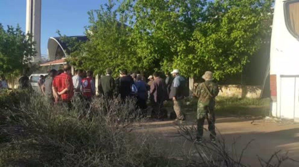Syria: UN-led evacuation of injured civilians underway in Madaya