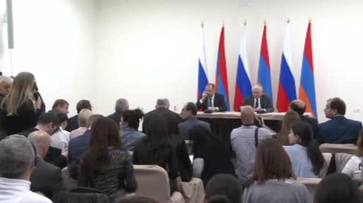 Armenia: Turkish president's Nagorno-Karabakh comments are 'calls for war' - Lavrov