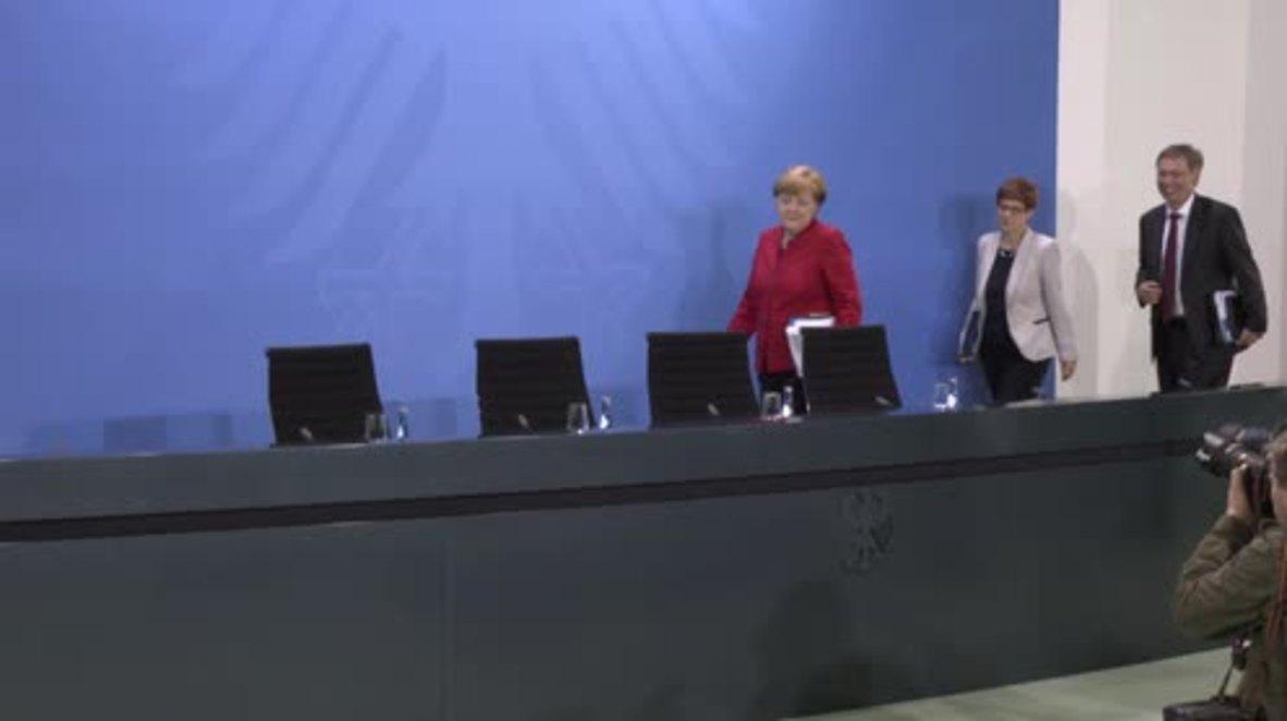 Germany: Merkel admits to 'mistake' over satirical poem