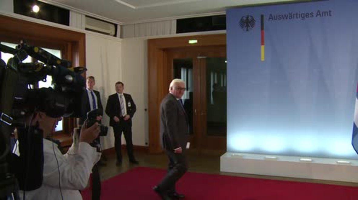 Germany: Steinmeier meets Cuban FM Rodriguez in Berlin