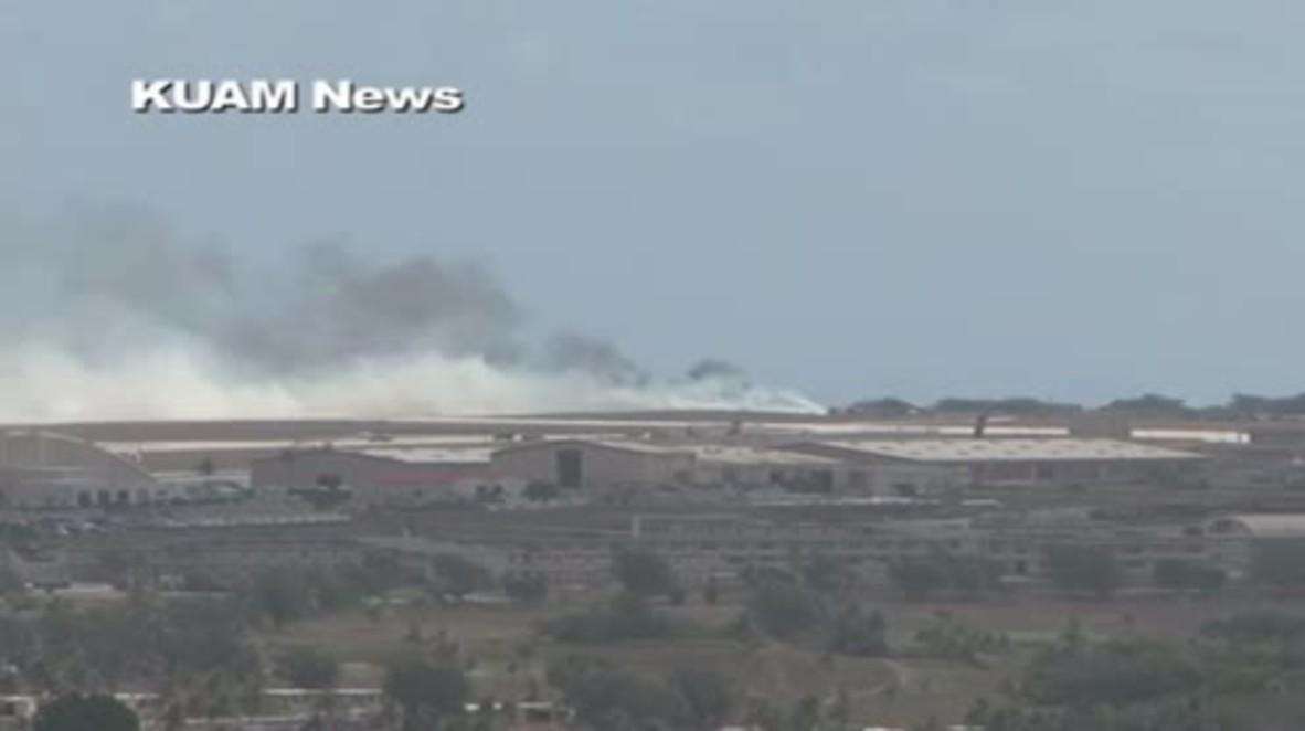 B-52 Crashes at Guam Air Base, No Injuries Reported