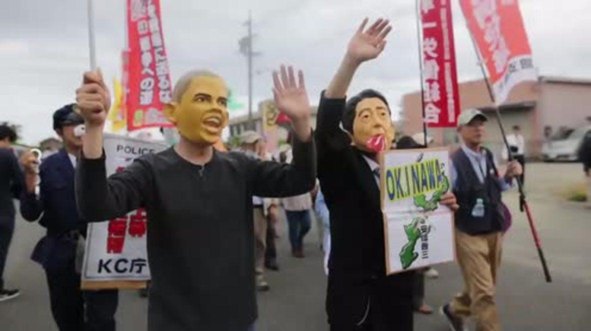 Japan: Hundreds protest G7 summit, Obama's visit to Hiroshima