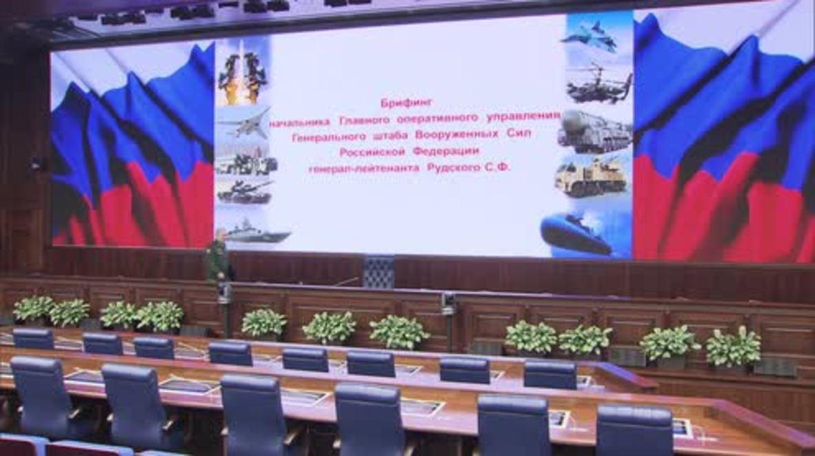 Russia: 'Weapons are still crossing Turkey-Syria border daily' - Rudskoi