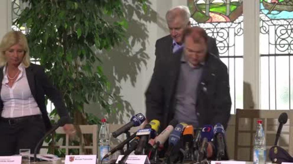 Germany: Seehofer visits Simbach am Inn following deadly floods