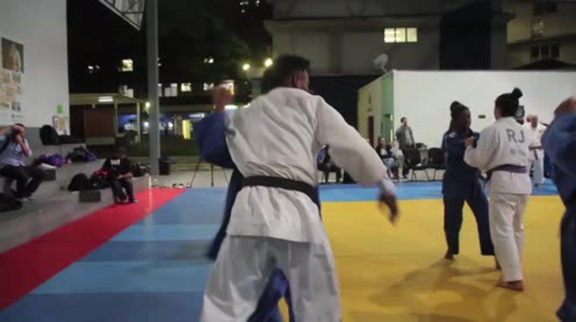 Brazil: Refugee athletes train ahead of Rio's 2016 Summer Olympics