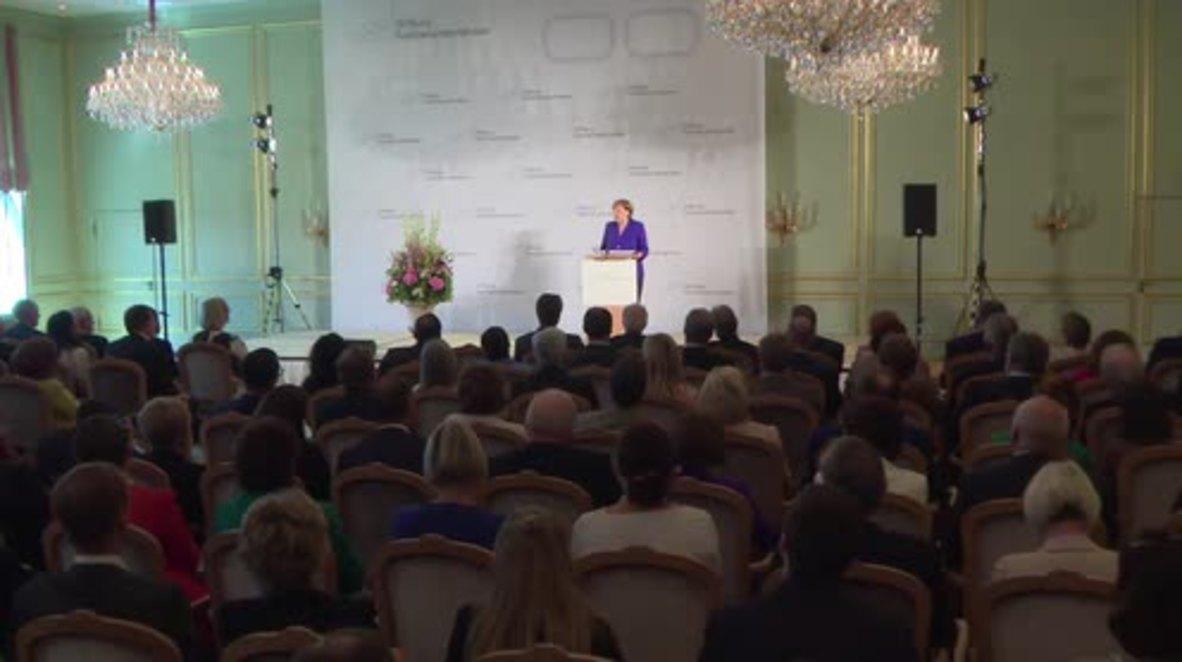 Germany: Merkel and Steinmeier talk 'Brexit' and Russia sanctions in Berlin