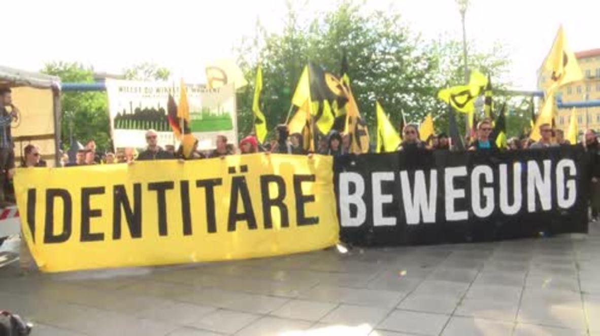 Germany: Far-right youth met with fierce opposition in Berlin