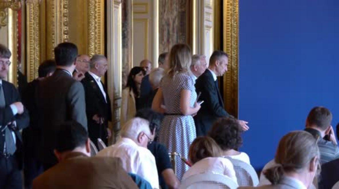 France: Ayrault hails EU strength during Lavrov presser