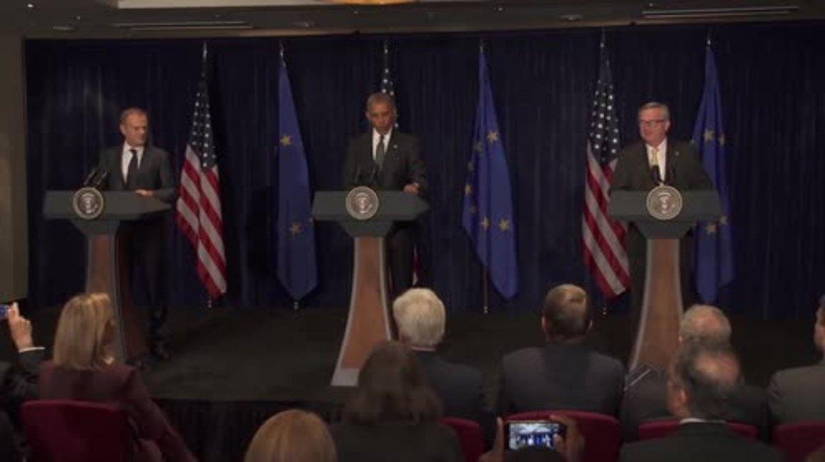 Poland: Obama condemns 'vicious' Dallas sniper attack from NATO summit