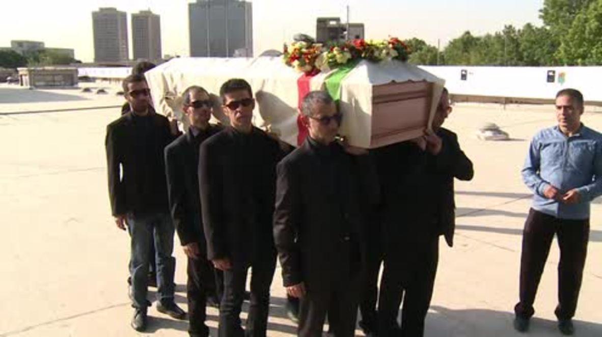 Iran: Thousands mourn iconic director Abbas Kiarostami in Tehran