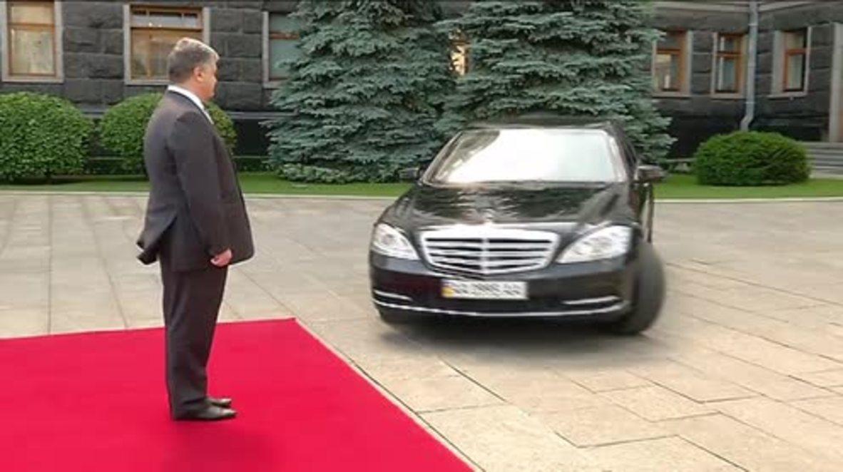 Ukraine: Trudeau meets with Poroshenko in Kiev