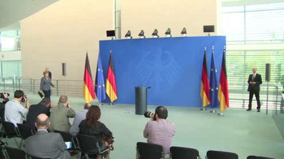 Germany: Merkel condemns Turkey's failed military coup