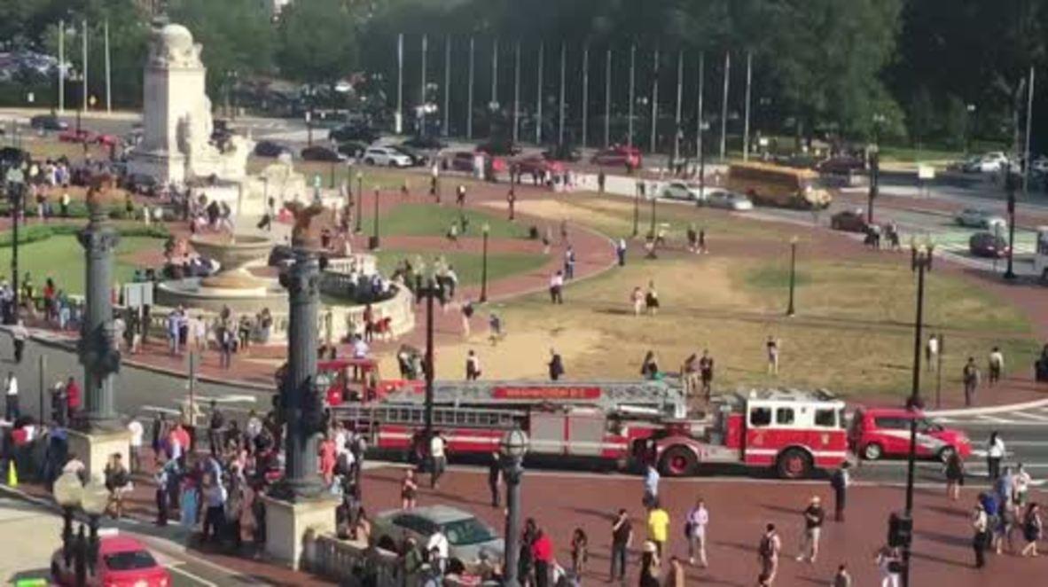 USA: Washington's Union Station briefly evacuated over bomb scare