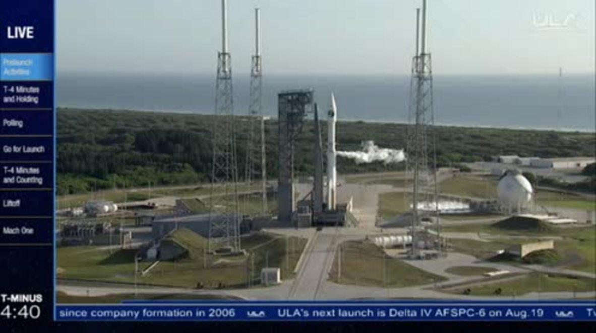 USA: Secret National Reconnaissance Office launch NROL-61 satellite