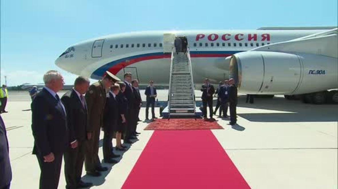 Slovenia: Putin arrives in Ljubljana for ceremony and bilateral talks