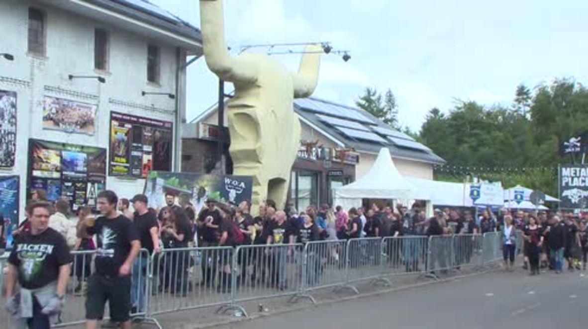 Germany: World famous Wacken festival attracts hordes of heavy metal fans