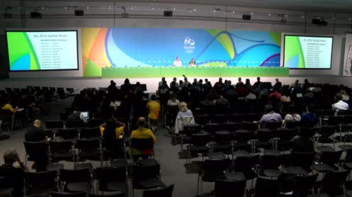 Brazil: Olympic Games 'not a platform for political debate' - IOC spokesman