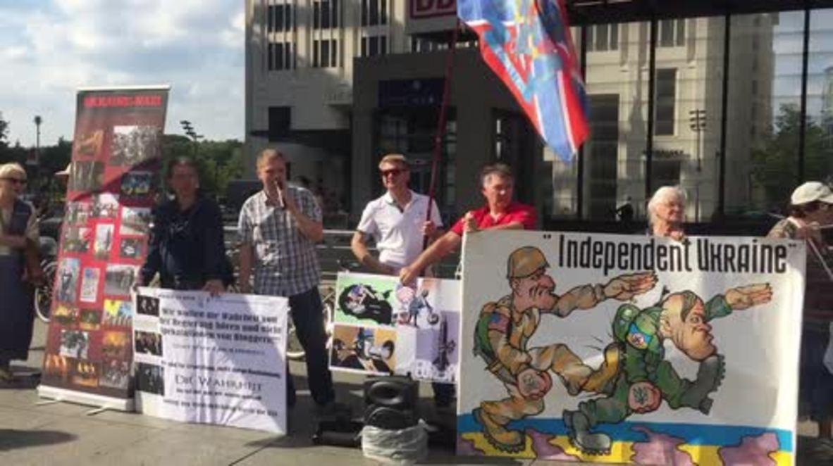 Germany: Anti-Ukraine activists denounce foiled Crimea attacks
