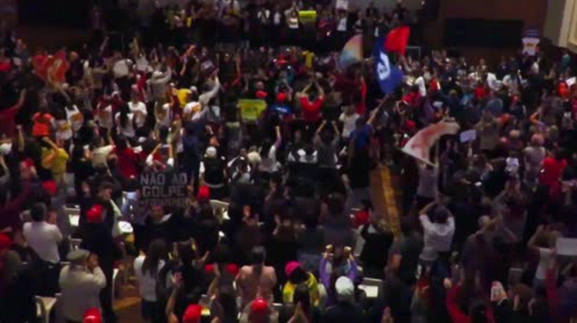 Brazil: Rousseff vows to fight impeachment