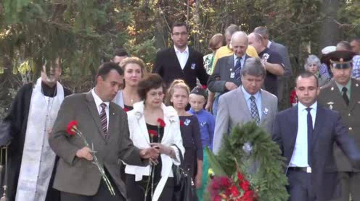 Estonia: Russian ambassador attends memorial 75 years on from Tallinn disaster