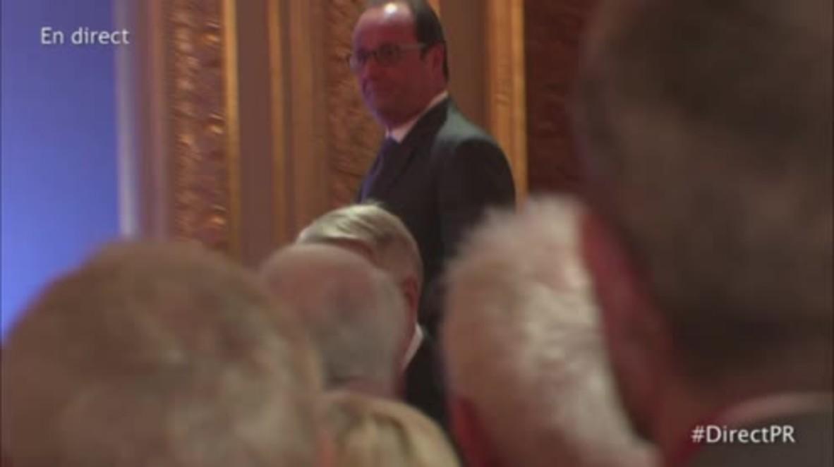 France: Hollande warns Turkey against 'inflammation' of Syrian crisis