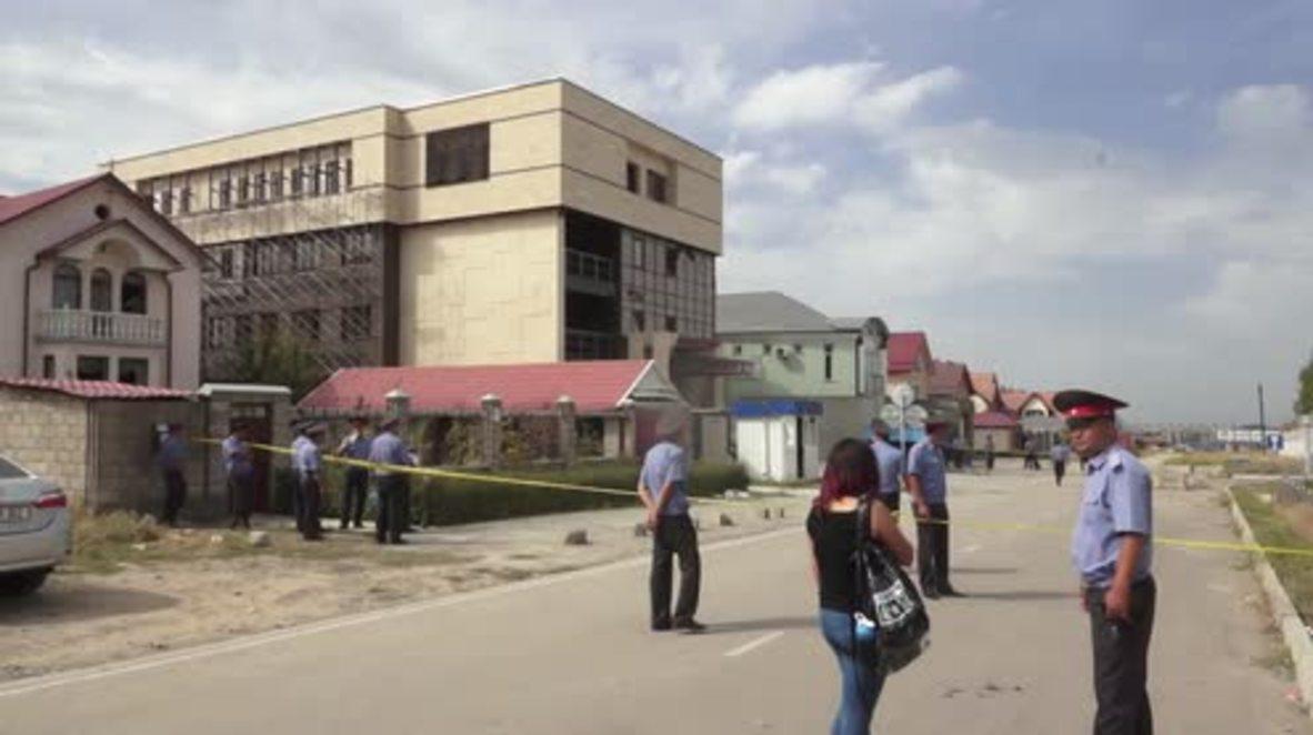 Kyrgyzstan: 3 injured as suicide car bomb hits Chinese embassy in Bishkek