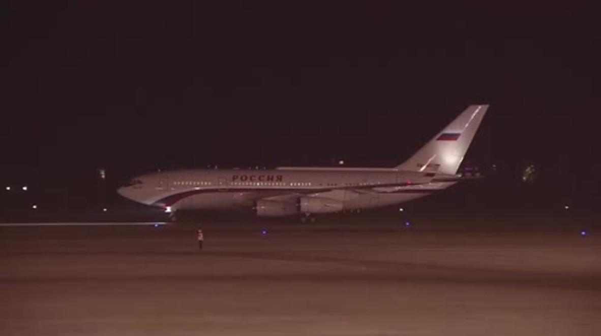 China: Putin arrives in Hangzhou ahead of G20