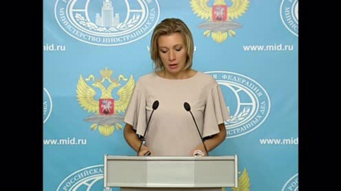 Russia: Zakharova hails 'hero' Belarussian who waved Russian flag at Paralympics