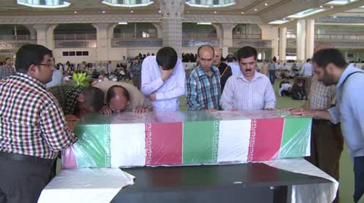 Iran: Memorial ceremony organised for victims at last year's Hajj pilgrimage