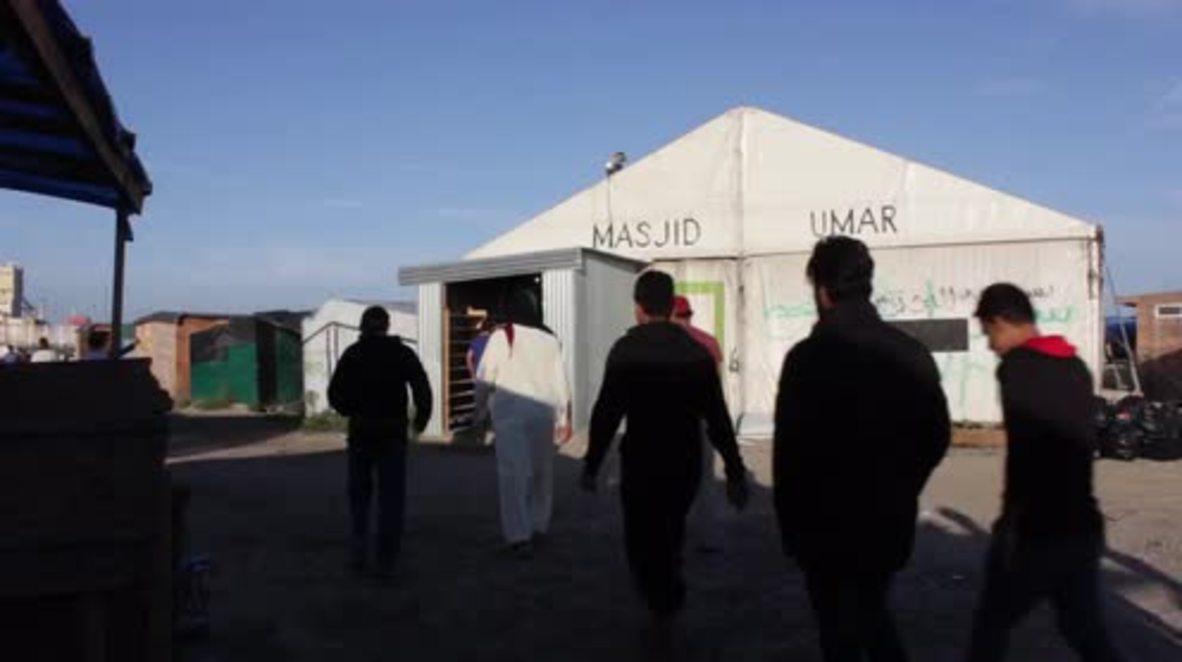 France: Muslims stuck at Calais 'Jungle' celebrate Eid al-Adha