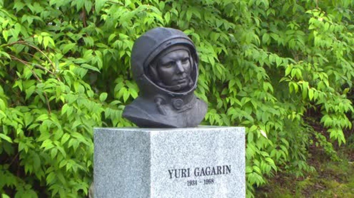 Norway: Monument to Yuri Gagarin unveiled in Bergen