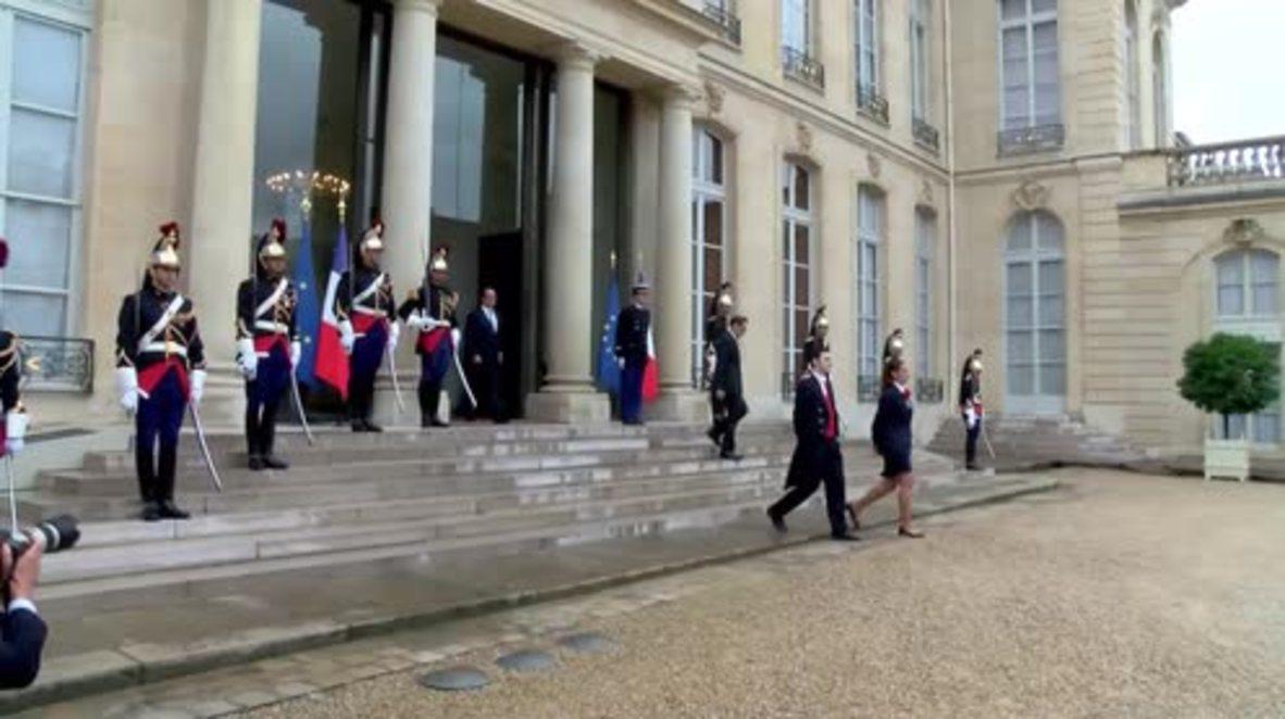France: Merkel and Hollande meet to discuss Brexit ahead of Bratislava summit