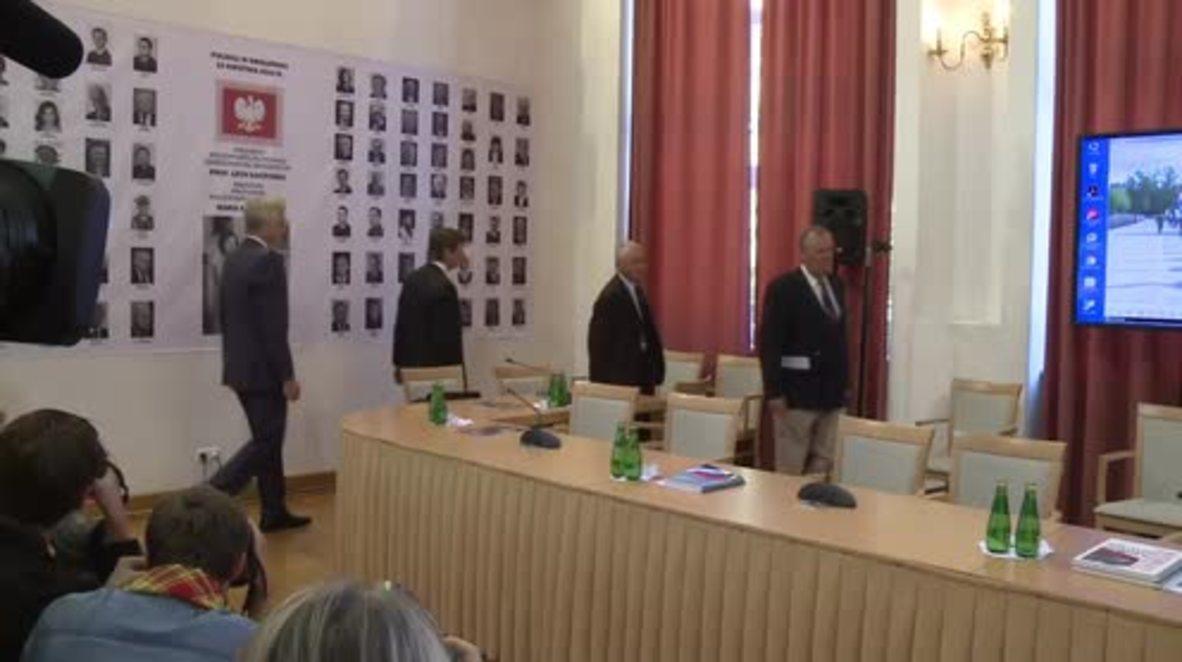 Poland: Key Smolensk black box recordings cut from original, crash commission alleges