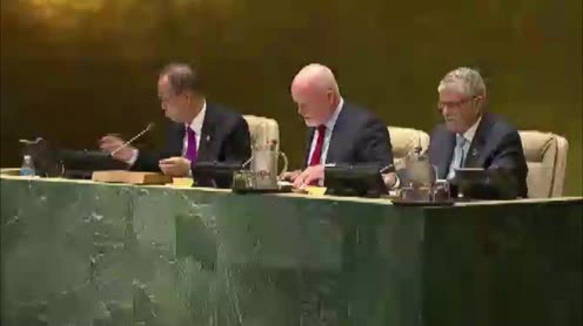 UN: Refugees offer potential, should not be seen as a burden - Ban Ki-moon