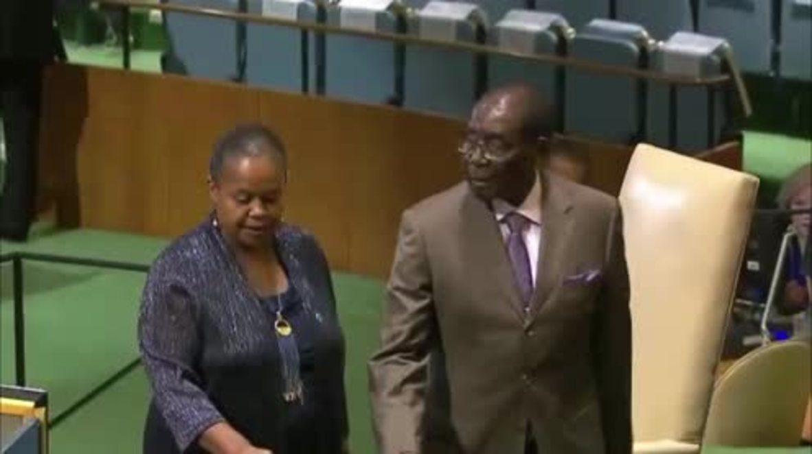 UN: Sanctions against Zimbabwe inhibiting Agenda 2030 - Mugabe