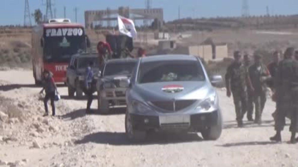 Syria: Govt. forces retake strategic Handarat camp north of Aleppo