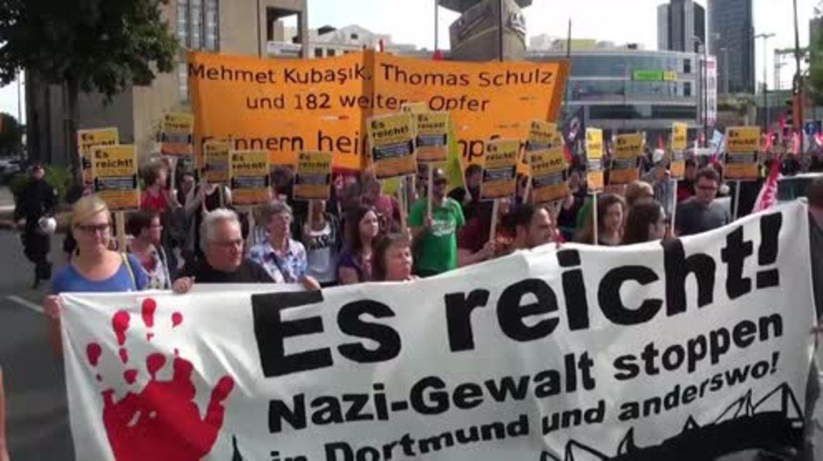 Germany: 'Stop Nazi terror!' Thousands denounce far-right violence in Dortmund