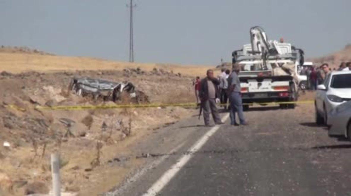 Turkey: 3 killed, 8 injured as blast hits Turkish military in Kurdish southeast