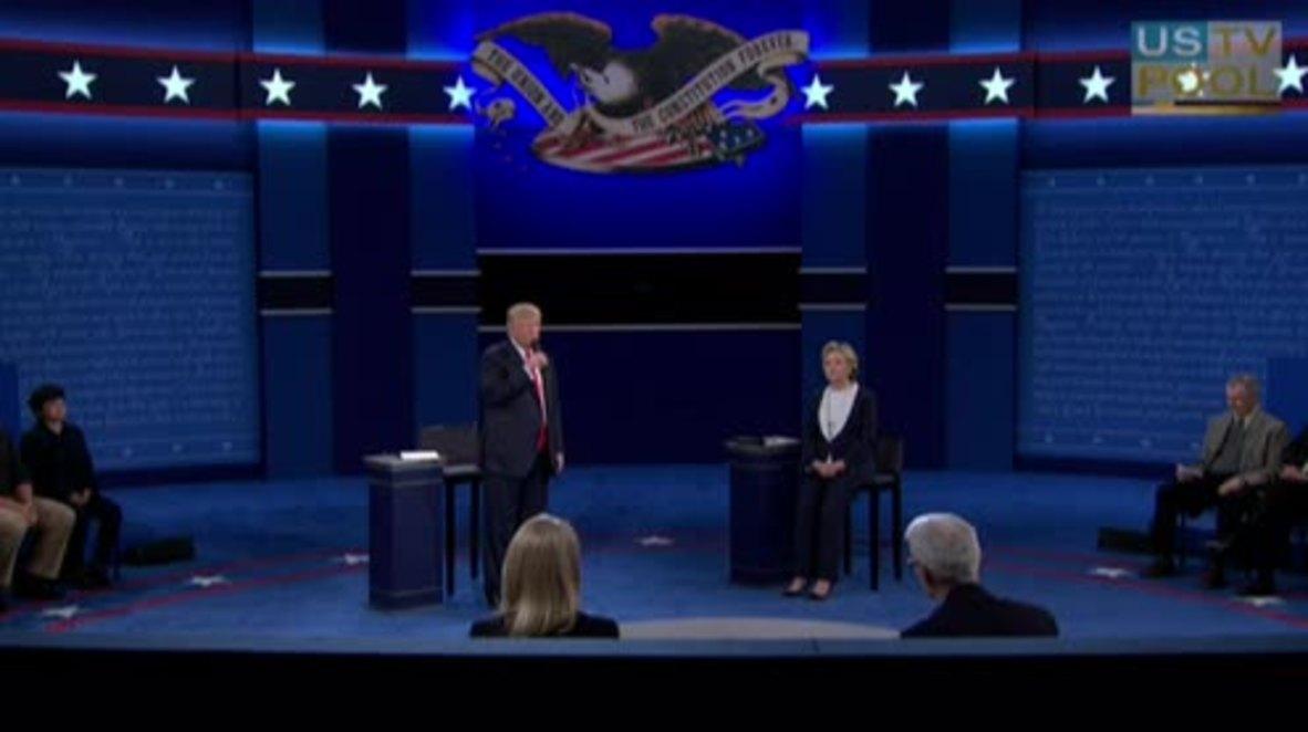 "USA: Trump dismisses lewd remarks as ""locker room talk"""