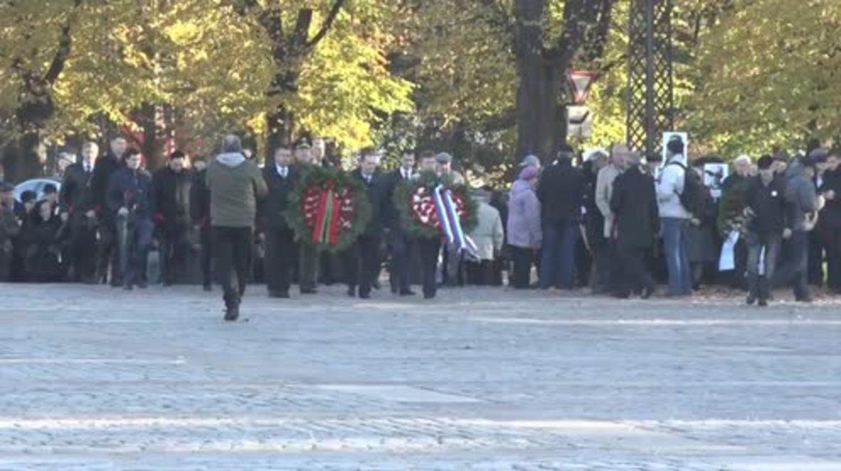 Latvia: Riga marks 72nd anniversary of liberation from Nazi Germany