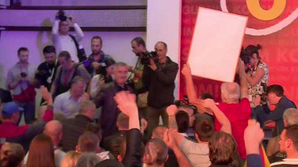 Montenegro: PM Djukanovic celebrates as DPS set to take elections