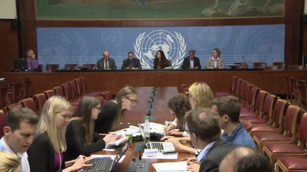 Switzerland: Mosul offensive could displace one million - UNHCR spokesperson