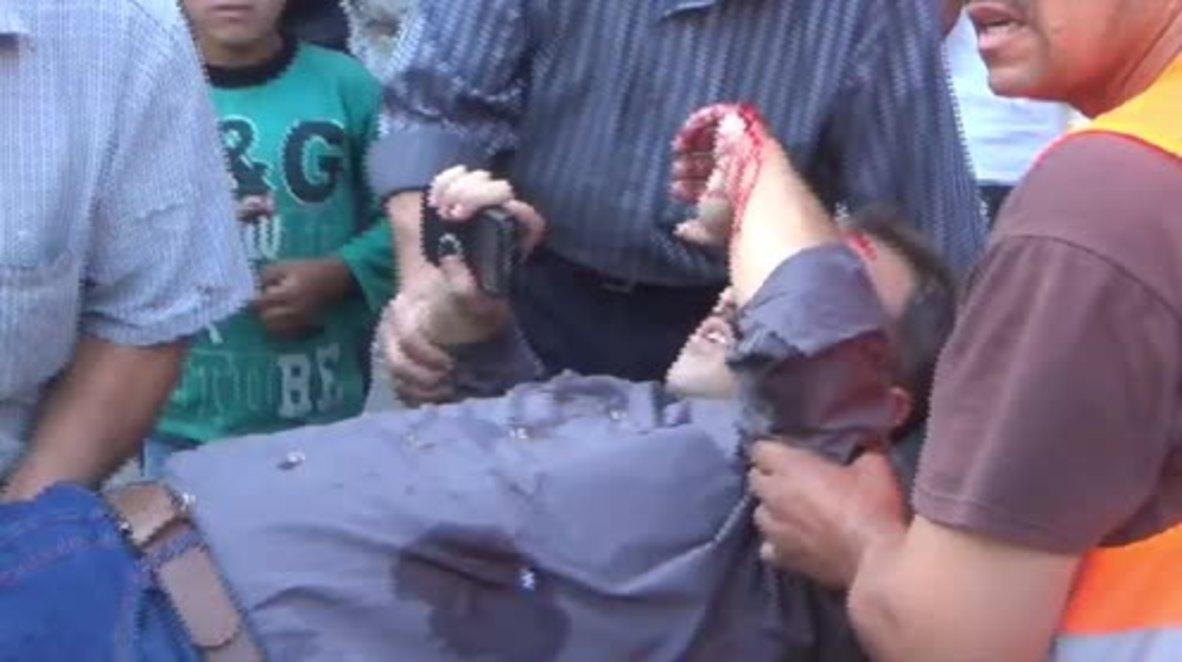 Syria: Militant shelling strikes Aleppo, at least 2 dead