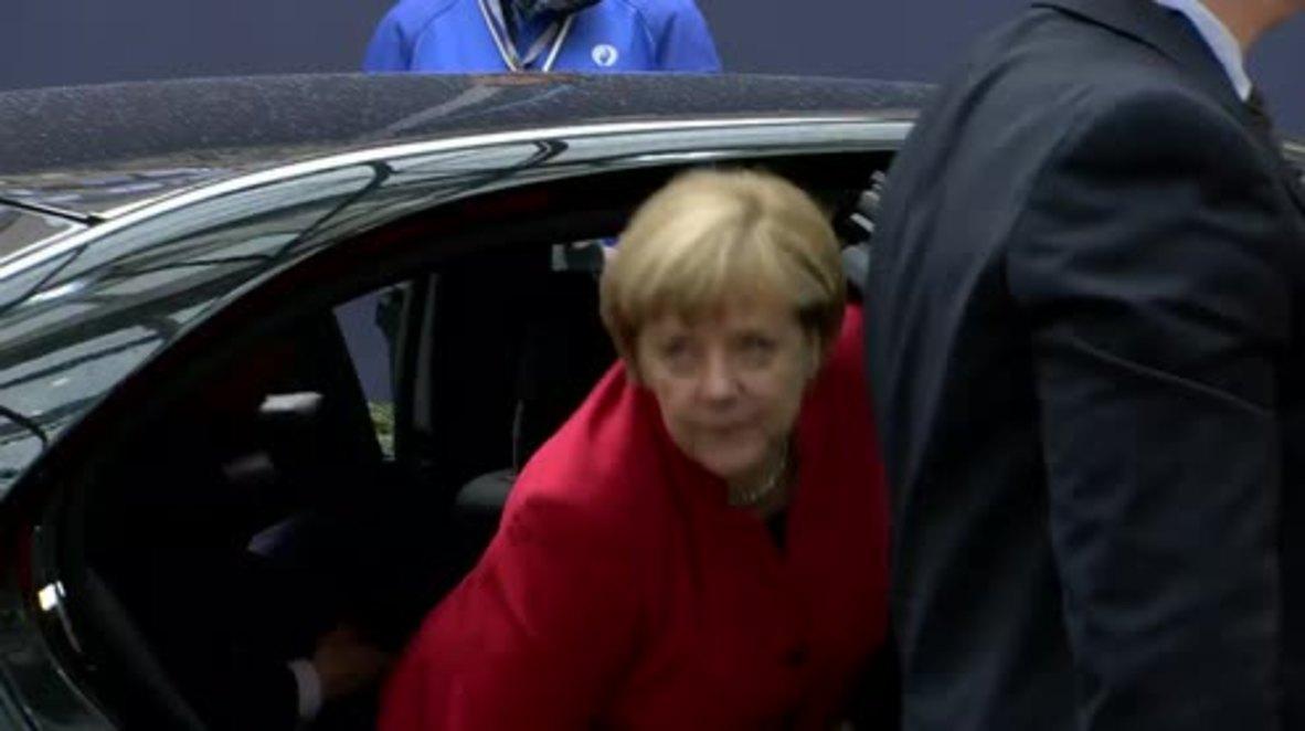 Belgium: Actions in Aleppo 'completely inhumane' - Merkel