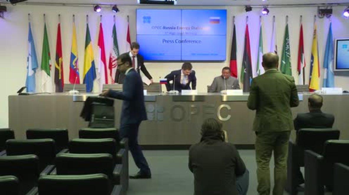 Austria: Russia-OPEC cooperation 'imperative' to stabilise oil market - Novak