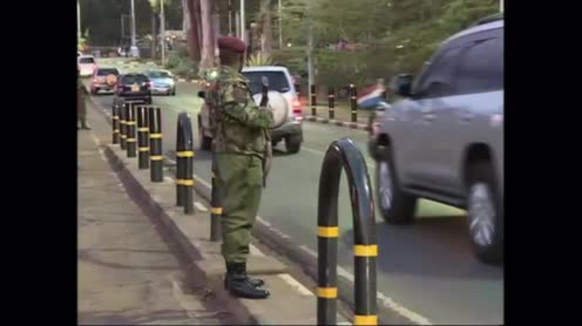 Kenya: Knife-wielding man fatally shot outside US Embassy in Nairobi