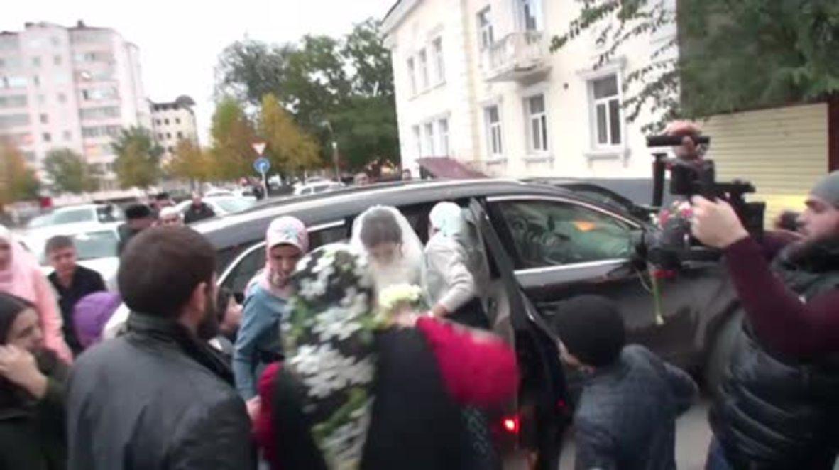 Russia: Grozny's vice squad observe wedding to prevent 'obscene' behaviour