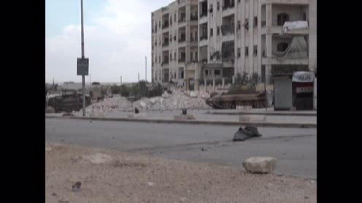 Syria: SAA battle Jabhat Fateh al-Sham militants in western Aleppo