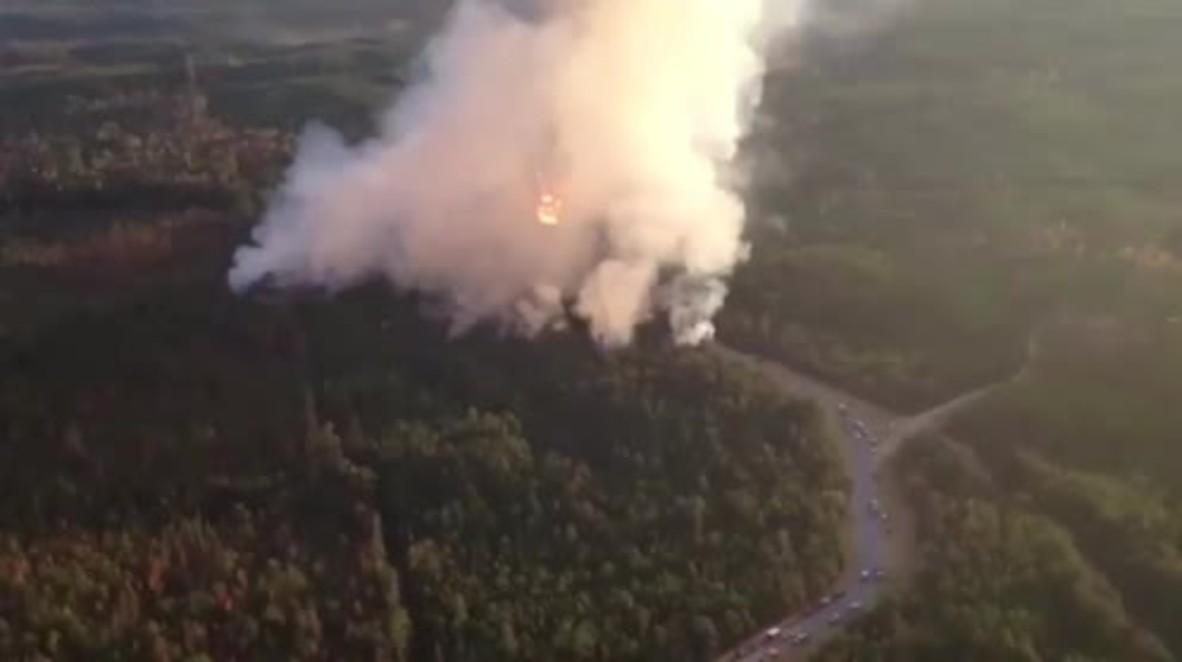 USA: Alabama gas line explodes, several injured